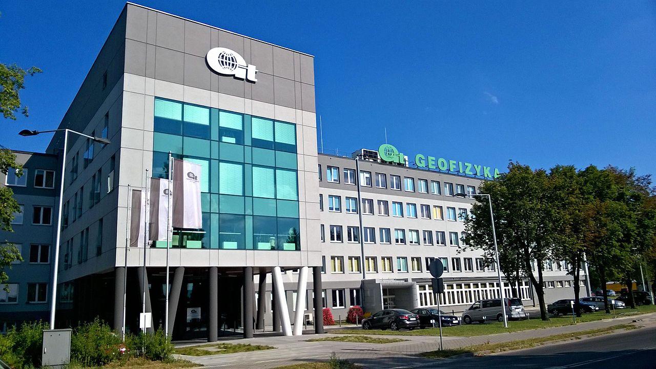 Siedziba przedsiębiorstwa Geofizyka w Toruń