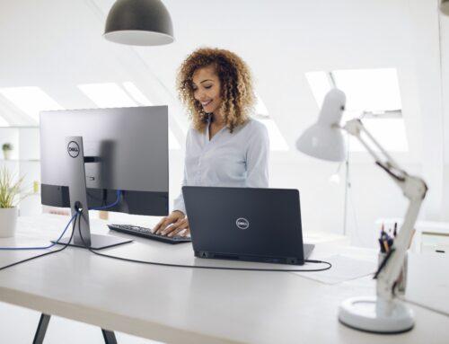 Dyskretne usprawnienia, wspaniały komfort pracy – monitory Dell z USB-C
