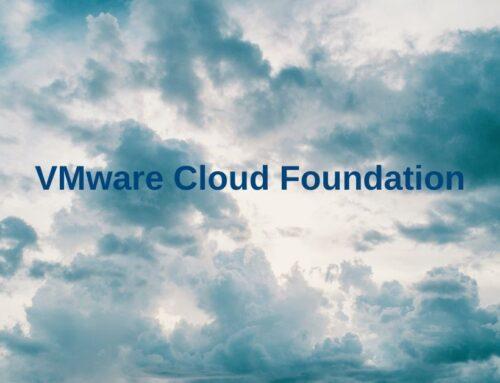 VMware Cloud Foundation – wprowadzenie