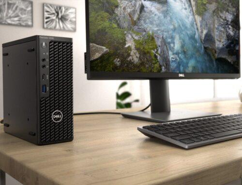 Dell Precision 3240 – bardzo kompaktowa desktopowa stacja robocza