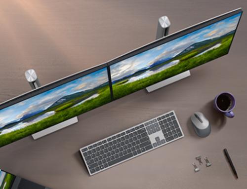 Wyższa produktywność dzięki dwóm monitorom